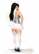 Sequin Corset Angel Costume with Feather Wings, Petticoat and Halo inset 1