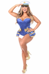 Sequin Sailor Corset Costume up to Size 6X