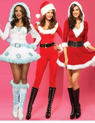 Sexy Christmas and Santa Costumes
