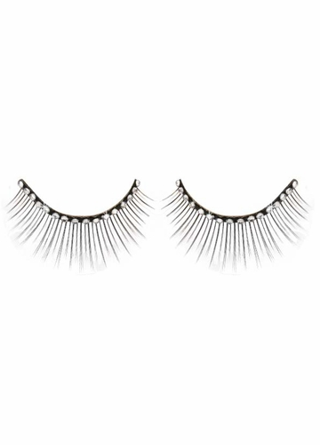 Sexy False Eyelashes with Crystal Stones