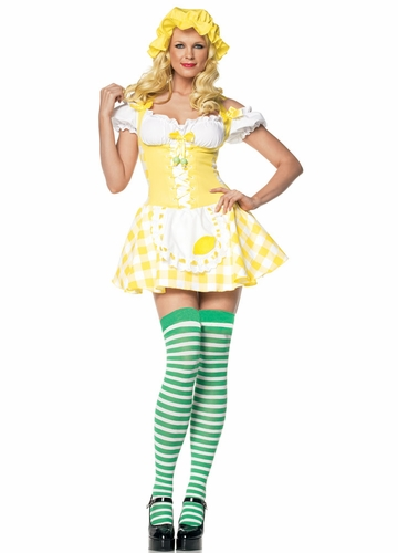 Sexy Lemon Meringue Strawberry Shortcake Costumes