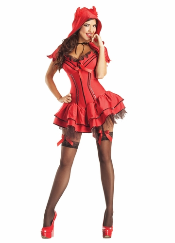Sexy Little Devil Shaper Costume