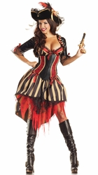 Sexy Pirate Shaper Costume