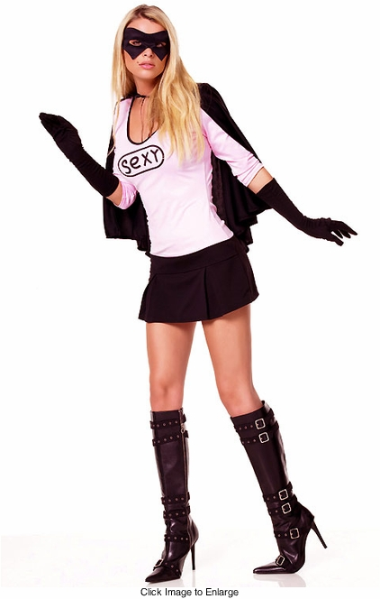 Sexy Super Hero Sidekick Costume
