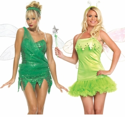 Sexy Tinkerbell Costumes