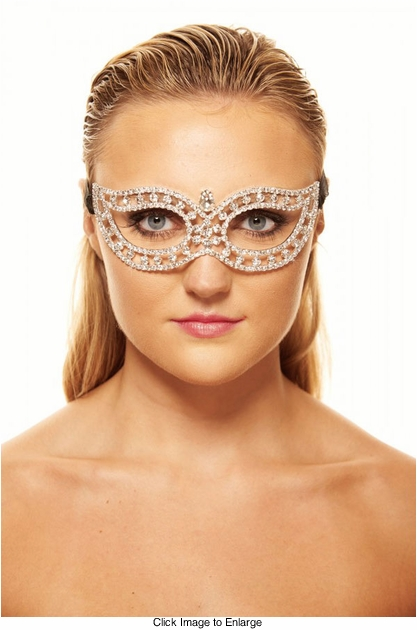 Sheen Crystal Masquerade Mask