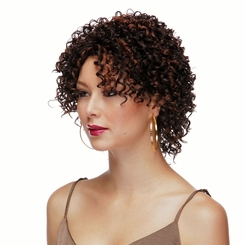 Short Lace Front Wig with Spring Curls