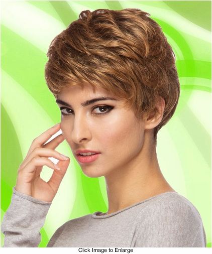 Short Layered Wig