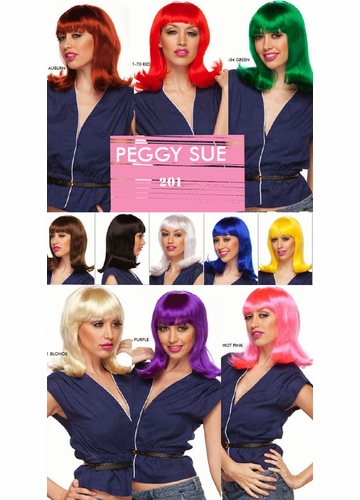 Shoulder Length Bob Wig Peggysue