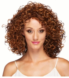 Shoulder Length Curly Heat Safe Wig