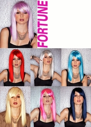 Shoulder Length Straight Cut Wig