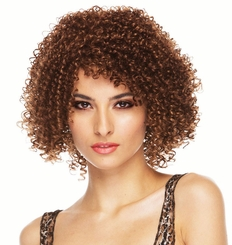 Shoulder Length Tight Curl Wig