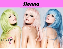 Sienna-Long Feathered Wig with Fringe