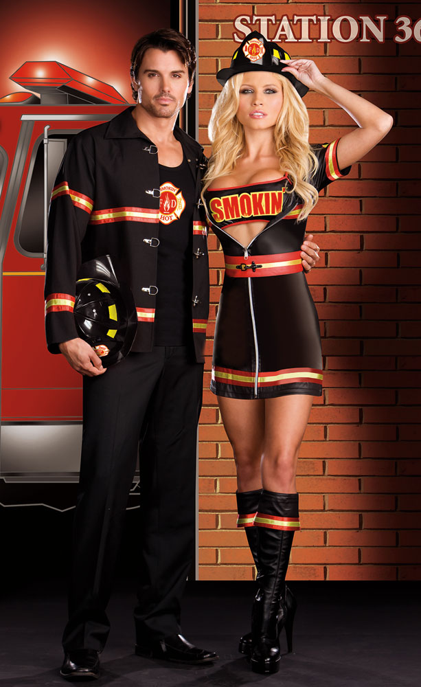 Smokin' Hot Fireman Costume for Men