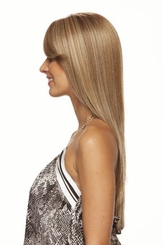 Smooth Long Hair Lace Front Wig
