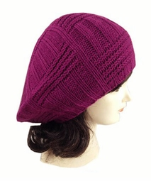 Soft Knit Beret Hat