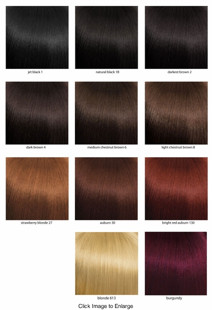 Solid Natural Color Chart
