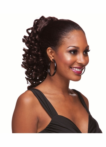 Spiral Curl Ringlet Draw String Hair Piece