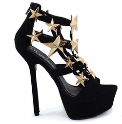 Star Platform Shoes