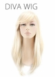 Straight Blonde Diva Wig inset 1