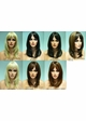 Straight Long Human Hair Blend Wig inset 2