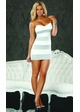 Strapless Dress with Stripes inset 1