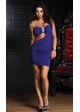 Strapless Mini Dress with Side Cutout and Ornamental Broach inset 2