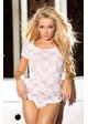 Stretch Lace T-Shirt (available in 2 colors) inset 2