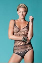 Stripe Net Bodysuit