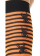 Striped Stockings with Spiders Seam inset 1