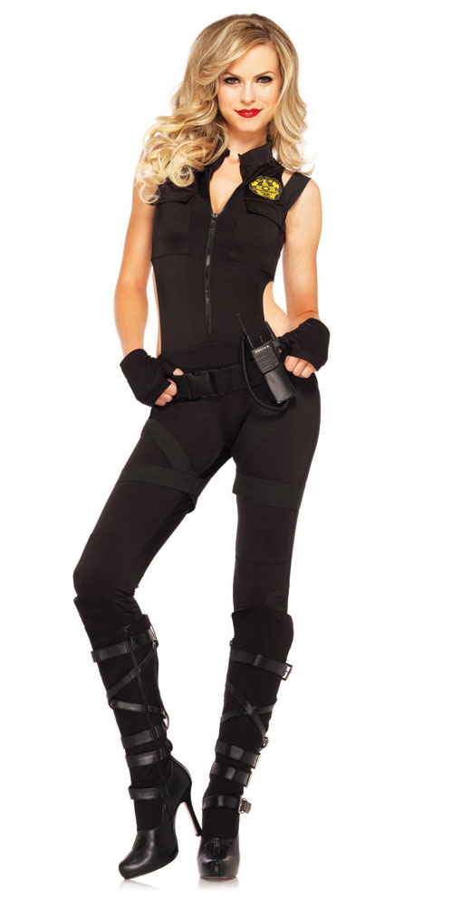SWAT Knockout Police Costume