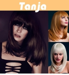 Tanja - Layered Cut Wig with Fringe