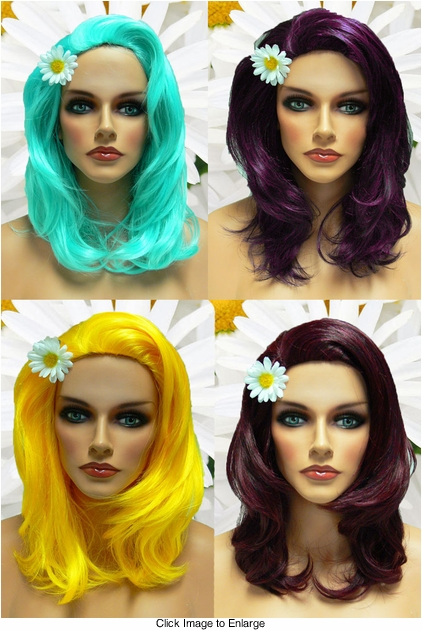 Textured Glamour Wig