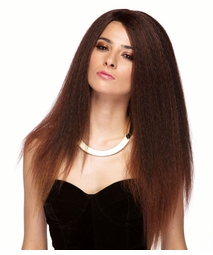 Boho Textured Long Lace Front Wig