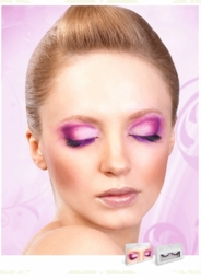 Textured Purple and Black Lashes for $6.00