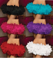 Tiered Multi Layer Tulle Tutu with Elastic Waistband