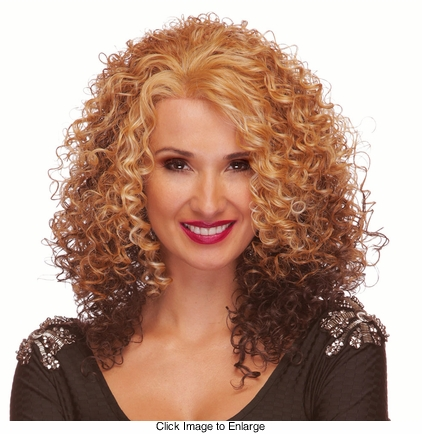 Tight Curl Long Lace Front Wig