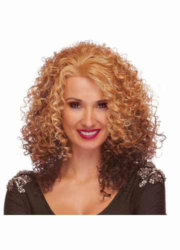 Tight Curl Long Lace Front Wig Erin