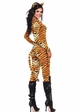 Tigress Catsuit Costume with Tail and Ears inset 1