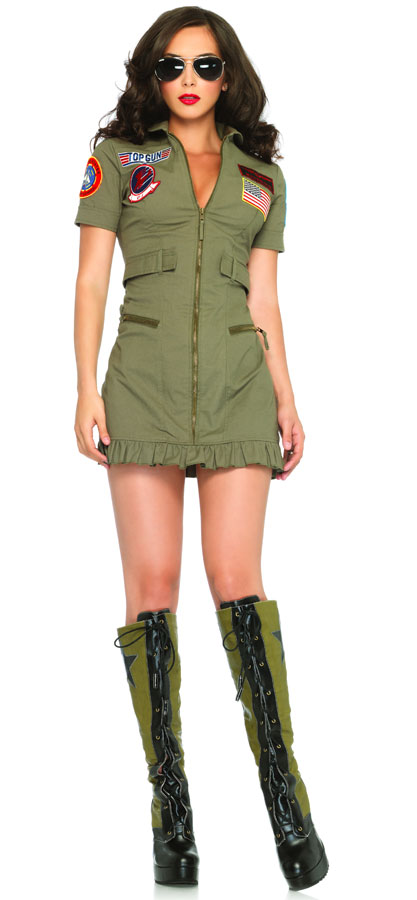 Top Gun Woman's Flight Dress Uniform