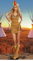 Tribal Beauty Costume