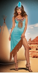 Tribal Temptation Native American Costume