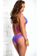 Tropical Monokini with Pucker Back inset 2