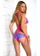 Tropical Triangle Bikini with Pucker Back inset 2