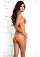 Tropical Triangle Bikini with Pucker Back inset 3
