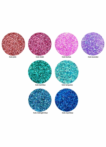 Ultra Fine Loose Glitter Powder with Iridescent Shine