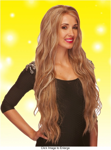 Ultra Long and Wavy Lace Front Wig