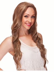 Ultra Long Tousled 3/4 Wig