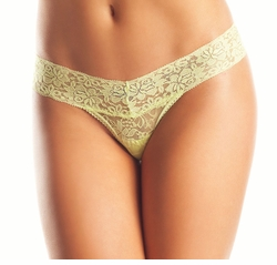 V-Cut Lace Thong Panty