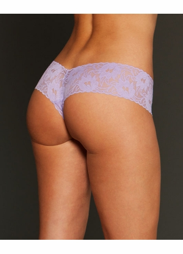 V-Shaped Lace Cheeky Panty